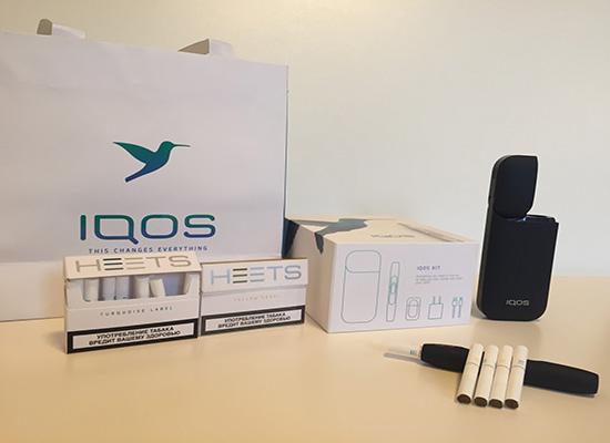 Сколько времени курится стик Iqos