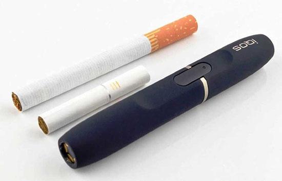 Можно ли в Iqos вставлять обычную сигарету