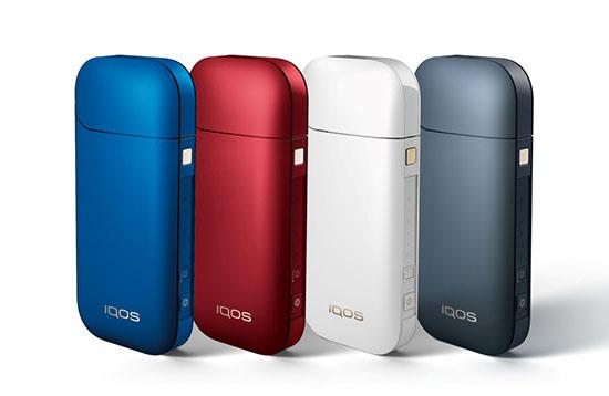 Какие цвета используются в корпусе IQOS