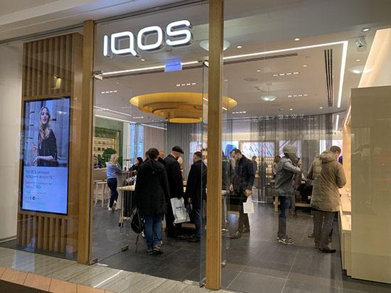 Разрешено ли курение Iqos  в торговых центрах