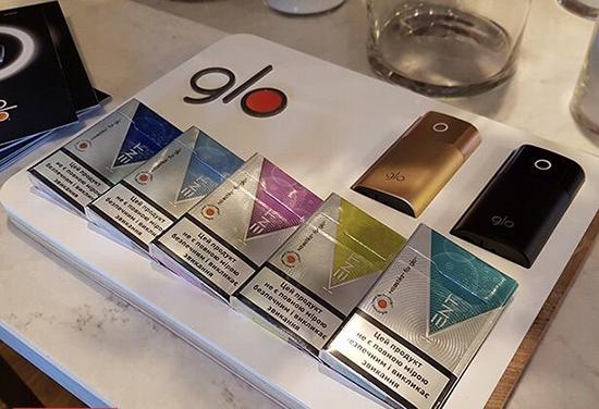 Glo электронные сигареты купить в пятерочке тара для табачных изделий