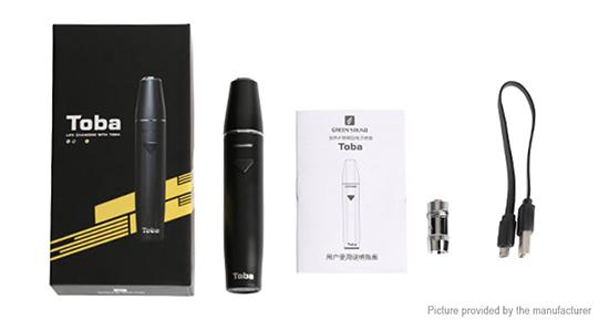 Особенности системы нагревания табака Toba